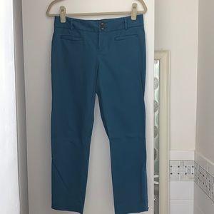 Anthropologie Cartonnier Blue Ankle Pants, Size 6